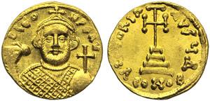 Leontius (695-698), Solidus, Constantinople, ...