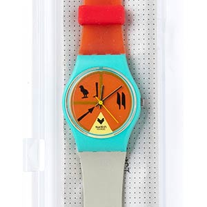 A VINTAGE LADYS SWATCH ...