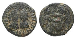 Justin I and Justinian I (AD 527). Æ 5 ...
