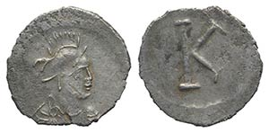 Anonymous, time of Justinian I, c. 530. AR ...