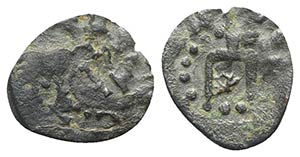 Kaffa, Genoese colony, c. 15th century. Æ ...