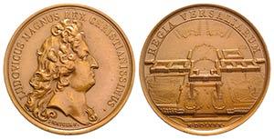 France, Louis XIV (1643-1715). Copper Medal ...
