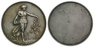 Italy, late 19th century. AR Medal of Merit ...