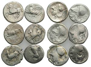 Lot of 6 AR Staters/Pegasii, to be catalog. ...