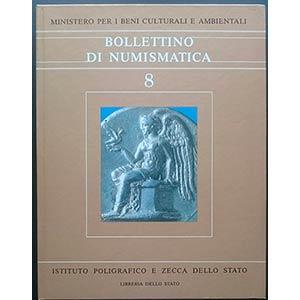 Bollettino di Numismatica 8, Serie I – ...