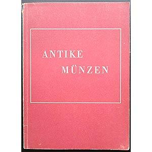 Lange K., Antike Münzen. Verlag Gebr. Mann, ...