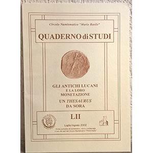 LUCCIONI R. – Gli antichi Lucani e la loro ...