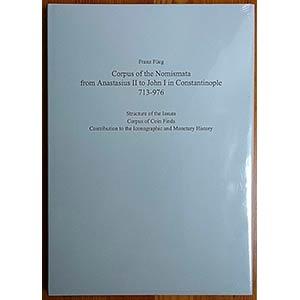 FUEG F., Corpus of the Nomismata from ...