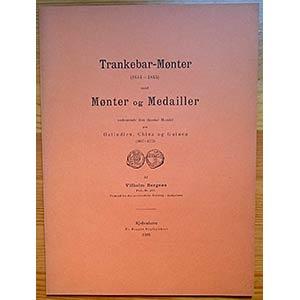 Bergsoe V., Trankebar-Monter (1644-1845) ...