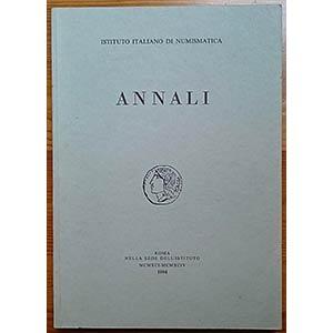 Annali 38-41, 1994. Istituto Italiano di ...