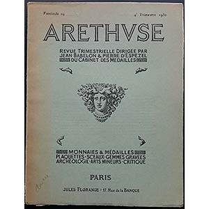 Arethvse - Fascicule 29, 4e Trimestre 1930. ...