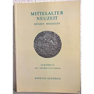 BANK LEU AG – Auktion n. 12. Zurich, 23 ...