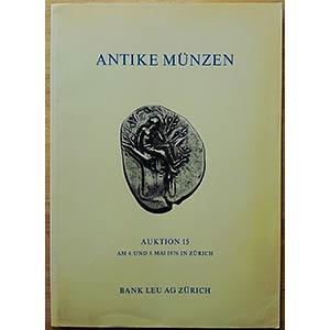 Bank Leu AG, Auktion 15. Antike Munzen. ...