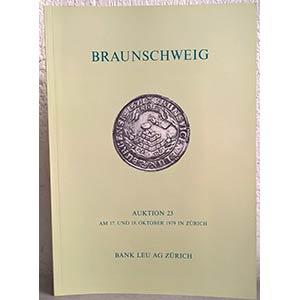 BANK LEU AG – Auktion n. 23. Zurich, 17-18 ...