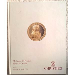Christie's Roma. Medaglie del Regno delle ...