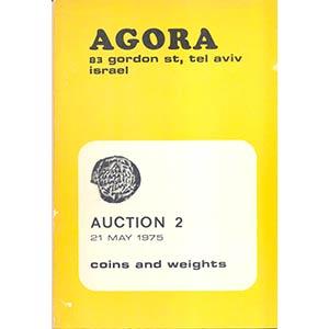 AGORA. – Auction 2,  Jewish coins, ...
