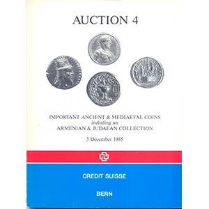 CREDIT SUISSE. – Auction 4. Important ...