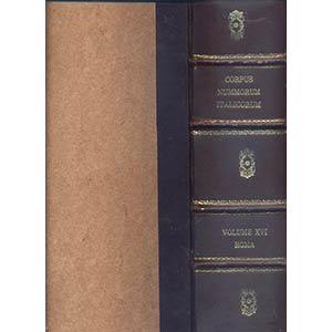 A.A.V.V. – Corpus Nummorum Italicorum Vol. ...