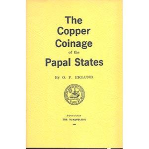 EKLUND O. P . - The copper coinge of the ...