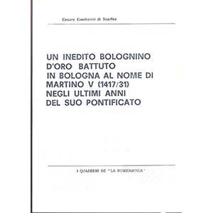 GAMBERINI DI SCARFEA  C. - Un inedito ...
