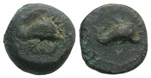 Northern Apulia, Salapia, c. 275-250 BC. Æ ...