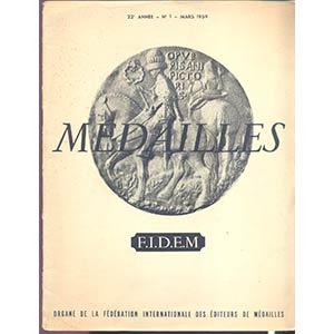 A.A.V.V. - Medailles. Paris, 1959. pp. 17, ...