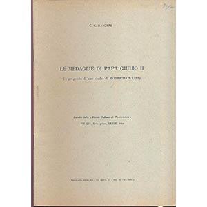 BASCAPE G. C. - Le medaglie di Papa Giulio ...