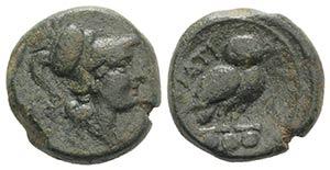 Northern Apulia, Teate, c. 225-200 BC. Æ ...