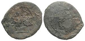 Roman PB Tessera, c. 3rd-2nd century BC ...