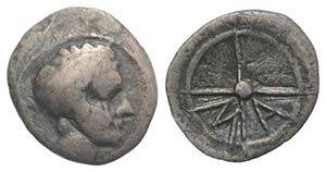 Gaul, Massalia, c. 218/5-200 BC. AR Hemiobol ...