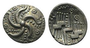 Celtic. Britain. Durotriges, c. 40-20 BC. AR ...