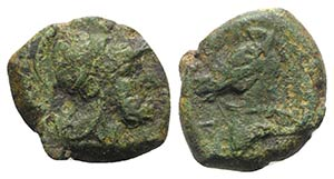 Anonymous, Rome, c. 260 BC. Æ (18mm, 5.21g, ...