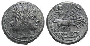 Anonymous, Rome, c. 225-212 BC. AR ...
