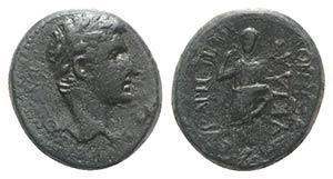 Augustus (27 BC-AD 14). Phrygia, Eucarpeia. ...