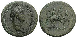 Nero (54-68). Æ Sestertius (38mm, 28.40g, ...
