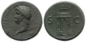 Nero (54-68). Æ Sestertius (34mm, 25.60g, ...