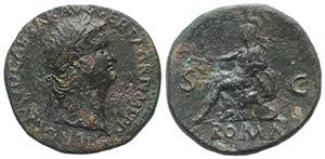 Nero (54-68). Æ Sestertius (33mm, 22.97g, ...
