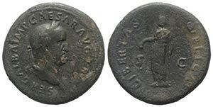 Galba (68-69). Æ Sestertius (36mm, 26.15g, ...