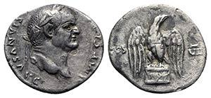 Vespasian (69-79). AR Denarius (16mm, 2.95g, ...