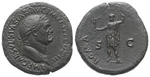 Vespasian (69-79). Æ Sestertius (34mm, ...