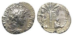 Titus (Caesar, 69-79). AR Denarius (17mm, ...