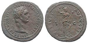 Domitian (81-96). Æ As (31mm, 11.10g, 6h). ...