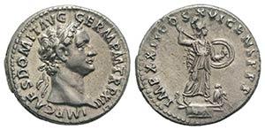Domitian (81-96). AR Denarius (18mm, 3.17g, ...