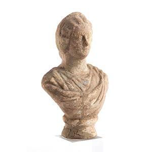 Busto muliebre da larario II – III secolo ...