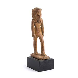 Statuetta bronzea di Nefertum Egitto, ...