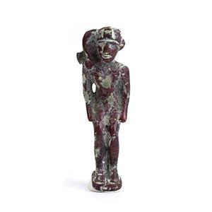 Statuetta bronzea di Horus bambino Egitto ...