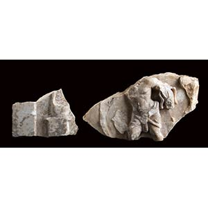 Coppia di rilievi Dionisiaci I - II secolo ...