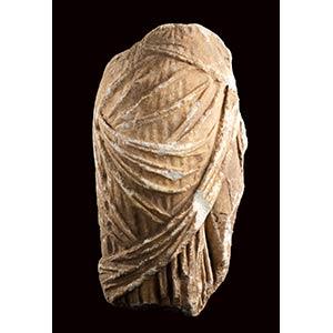 Torso femminile panneggiato I secolo a.C. - ...