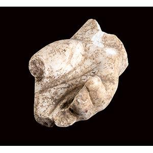 Grande mano sinistra in marmo I - II secolo ...
