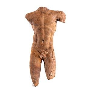 Eccezionale statuetta in terracotta Magna ...